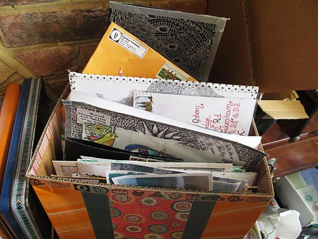 Mail art box 3